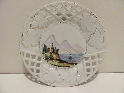 Vintage Decorative Plate----7 1/4 Inches In Diameter