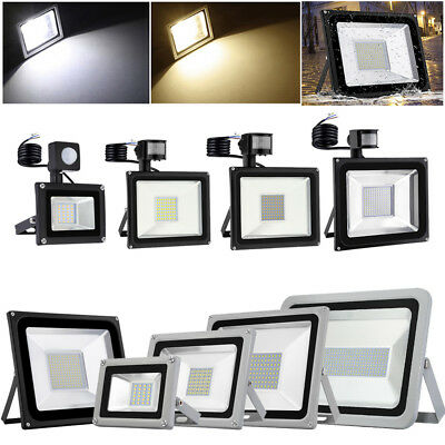 PIR Sensor LED Floodlight 800W 500W 300W 200W 100W 50W 20W 10W Outdoor Spotlight