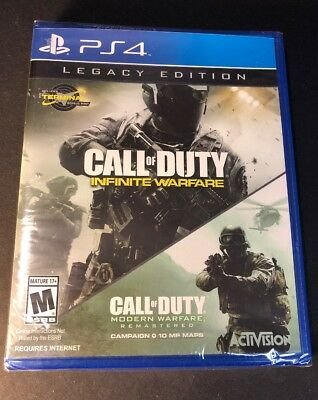 Call of Duty Infinite Warfare [ Legacy Edition ] (PS4) NEW