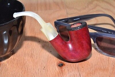 """New Briar Tobacco Pipe, each one is unique and hand crafted by """"Glenn A."""""""