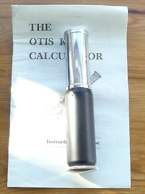 Orvis King Cylindrical Calculator/Slide Rule Model L -  Boxed with Instructions