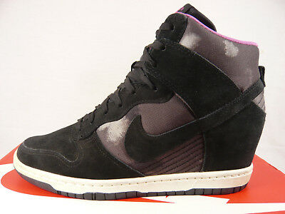 separation shoes d0a87 788d6 ... netherlands nike dunk sky high sneaker wedges us 9.5 eur 41 schuhe air  1 keilabsatz jordan