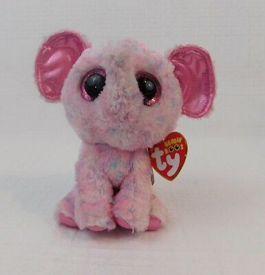 Ty Beanie Boos Ellie The Elephant 6 Plush Stuffed Animal Toy Hang