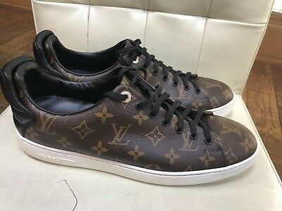 4d0da5e99231 LOUIS VUITTON FRONT Row MONOGRAM Sneakers - Mens LV Size 9 10 US ...
