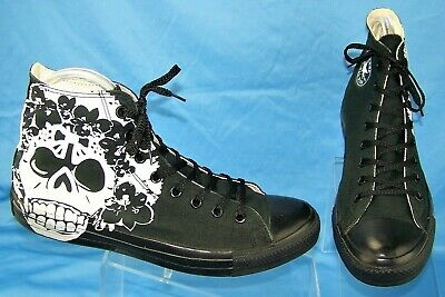 CONVERSE Chuck Taylor All Star Sugar Skull 100041F High Top Sneakers M 11/W 13