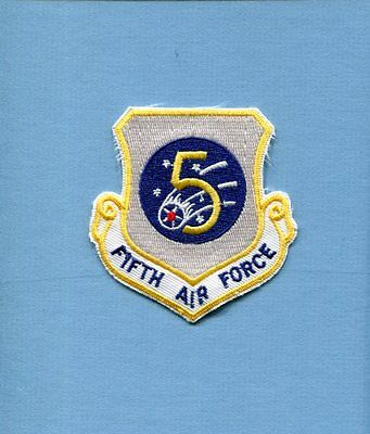5th AIR FORCE USAF SQUADRON COMMAND Hat Jacket Patch