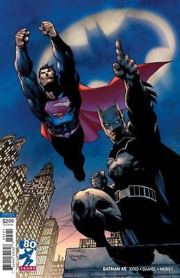 Batman #45 Jim Lee Virgin Variant Dc Comics