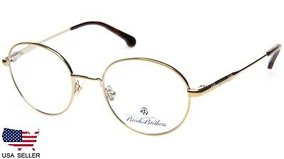 f9be3bff4581 NEW BROOKS BROTHERS BB1047 1581 GOLD EYEGLASSES GLASSES FRAME 47-19-140  B42mm