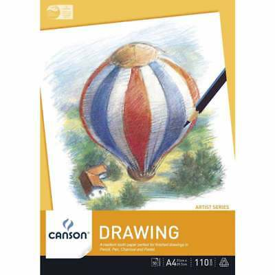 Canson Drawing Pad 110 gsm, 50 sheets (A4, A3)