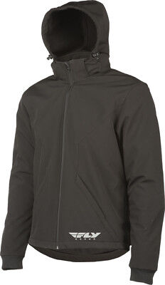 Fly Racing - 477-2009M - Armored Tech Hoodie Black Md