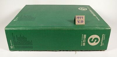 1977 Sweet's Architectural Catalog File Volume 10