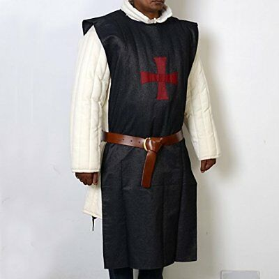 Tabard Red with Black Cross knights costume