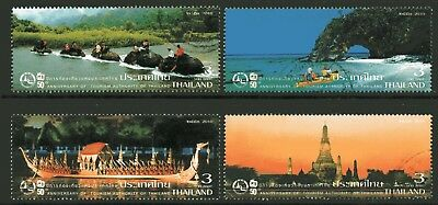 Thailand 2010 Thai Tourism set of 4 Fine Used