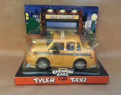 Action- & Spielfiguren Chevron Cars Retired 1997 Tyler Taxi By The Chevron Cars