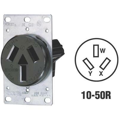 Leviton Flush Range Outlet R30-05206-S10 Unit: EACH