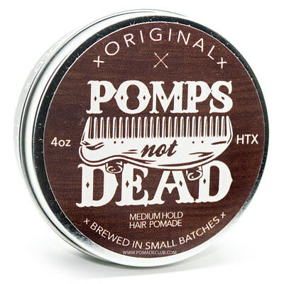 Pomps Not Dead Original Medium Hold Pomade 4oz