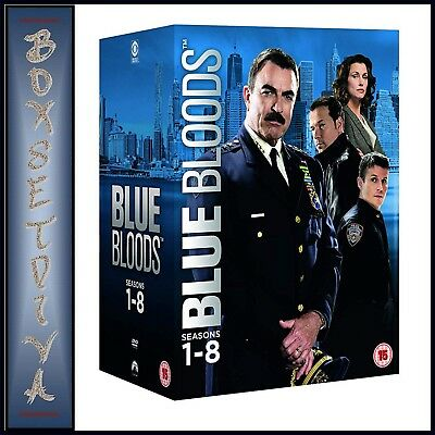Blue Bloods - Complete Seasons 1 2 3 4 5 6 7 & 8  *brand New Dvd Boxset