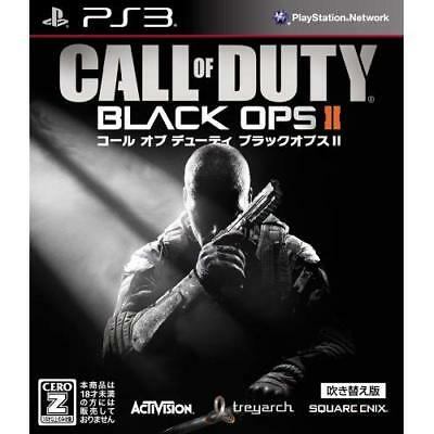 """Used PS3 Call of Duty Black Ops II Dubbed version CERO rating """"Z"""" Japan Import"""