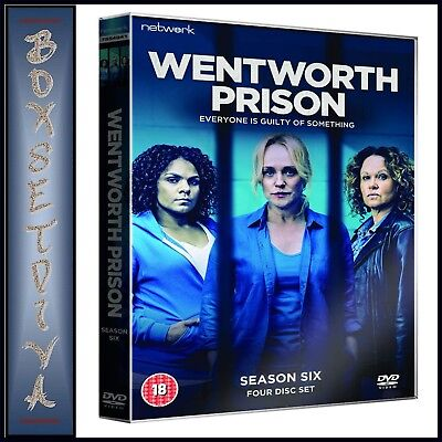Wentworth Prison Complete Season 6 - Sixth Season  *Brand New Dvd