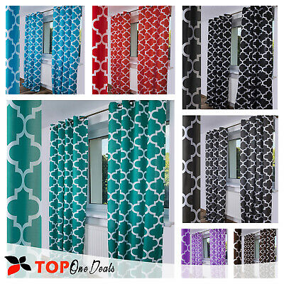 Amazing Pair Ready Made Curtains Ring Top Voile Net Curtains Panels