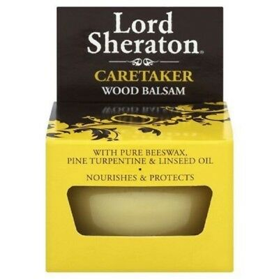 Lord Sheraton Original Wood Balsam, 75ml - Nourishes and Protects Pack of 1 & 2