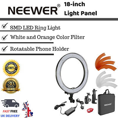 Neewer 18-inch Outer Dimmable SMD LED Ring Light Lighting Kit