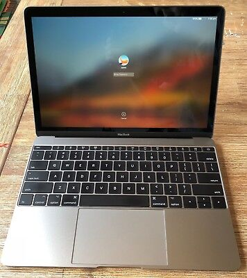 "Apple MacBook 12"" Space Grey Laptop, 8MB RAM, 512GB SSD, Core i5 1.3GHz, AS NEW!"