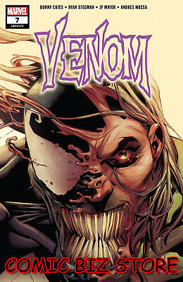 Venom #7 (2018) 1St Printing Stegman Main Cover Bagged & Boarded Marvel Comics