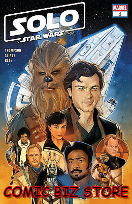 Star Wars  Solo Adaptation #1 (Of 5) (2018) 1St Print Main Noto Main Cvr ($4.99)
