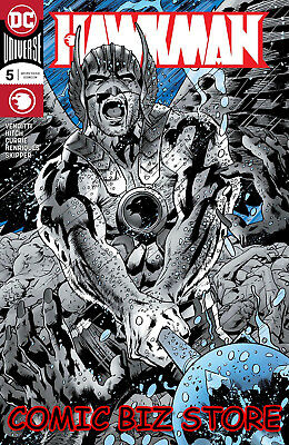 Hawkman #5 (2018) 1St Printing Hitch Foil Cover Dark Nights Metal Tie-In Dc