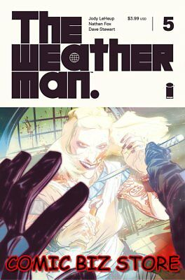 Weatherman #5 (2018) 1St Printing Fox Cover A Bagged & Boarded Image Comics