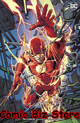 Flash #56 (2018) 1St Printing Porter Variant Cover Dc Uni Bagged & Boarded
