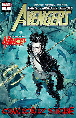 Avengers #9 (2018) 1St Printing Marquez Main Cover Marvel Bagged & Boarded