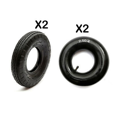 2 Tyre Innertube 2.80-4 Pocket Bike 2.50-4 Gas Scooter WheelBarrow 250-4 2.80-4