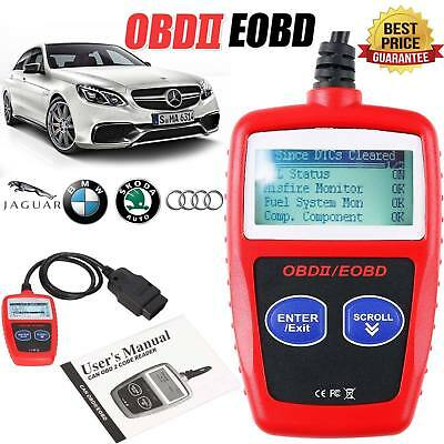Car Fault Code Reader Engine Diagnostic Scanner Reset Tool OBD CAN 2 BUS EOBD