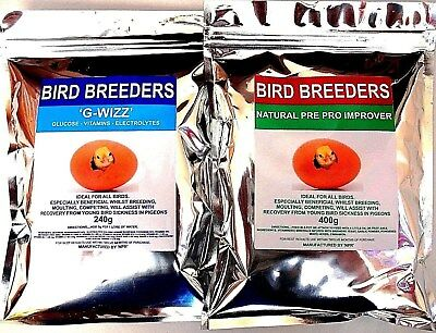 RACING PIGEONS YOUNG Bird Sickness Supplement Treatment Moulting