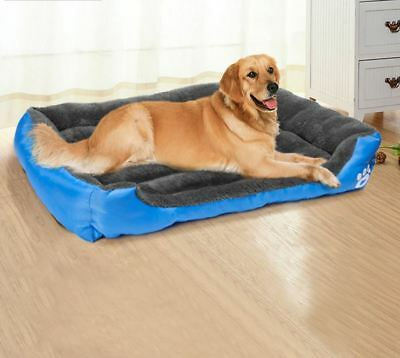 Cat Dog Pet Mattress Soft Warm Bed Washable Large Deluxe Fleece S M L XL XXL Mat