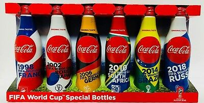 FIFA World Cup Limited box All 6 types empty Coca Cola 2018 Japan F/S