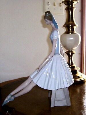 Lladro Nao Retired Rare Large Ballerina Designs By Salvador Furió Spain Stunning