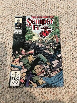 SEMPER FI Tales of the Marine Corps #1 Marvel Comic 1988 VF/NM