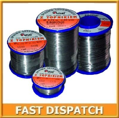 HQ Tin Lead 60/40 Flux Multi Cored Solder Wire Cynel for SMD, DIY, etc.