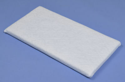 SNUZPOD MATTRESS 80.5cms x 36.5cms X 5Ccms QUILTED ZIPPED COVER NON ALLERGENIC