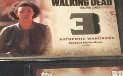 walking dead card lot. Autograph Card 2 Wardrobe Cards. 2 Insert Cards. Limited