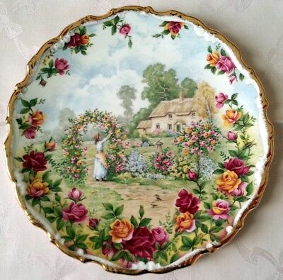 Royal Albert Celebration Old Country Roses Garden piatto in porcellana inglese