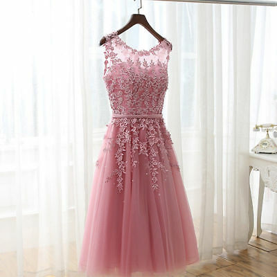Short Evening Formal Party Dress Prom Ball Gown Homecoming Bridesmaid Dresses
