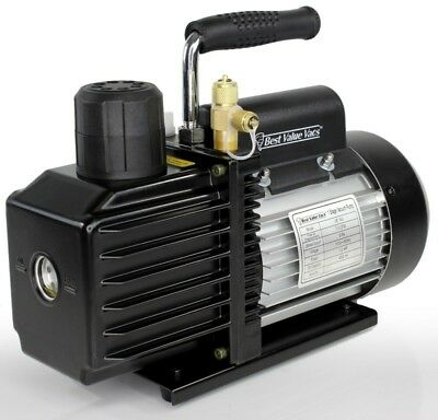 Best Value Vacs EURO TYPE C PLUG 220V VE115 3CFM Single Stage Vacuum Pump