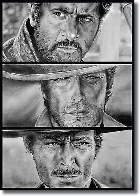 The Good, the Bad and the Ugly Movie Wall Art CANVAS Print A0 A1 A2 A3 A4