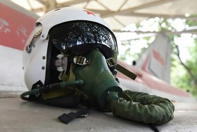 Original Air Force mig-29 Fighter Pilots Flight Helmet,Oxygen Mask(Ym-9915)