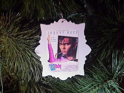 custom movie poster christmas ornament cry baby johnny depp john waters - John Waters Christmas