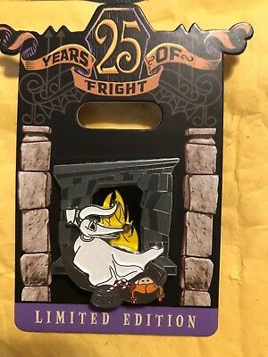 Disney Nightmare Before Christmas 25 Years Of Fright Zero Pin LE 4000 NBC